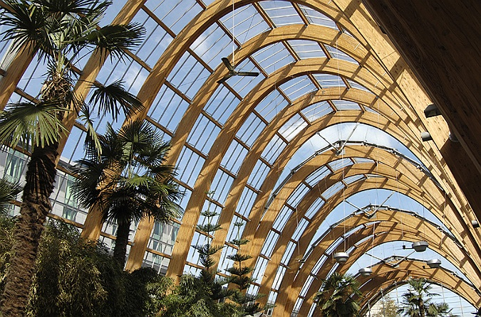 Commercial Photographer, Winter Gardens, Sheffield, Interior, UK