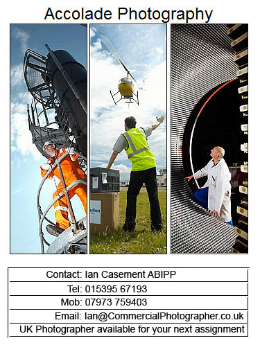Industrial Photography contact card